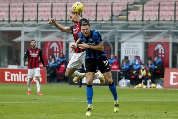 Hráč AC Miláno Zlatan