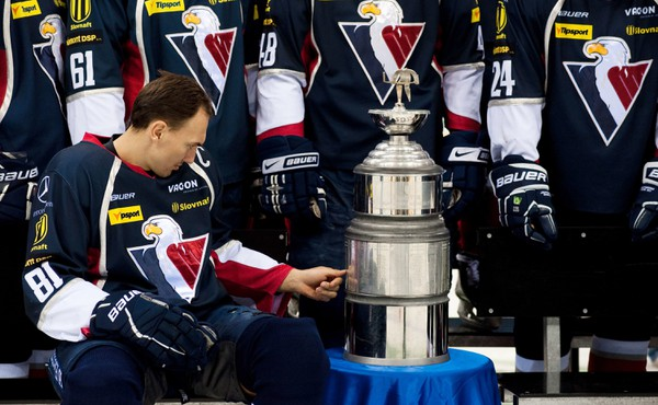 Vtedajší kapitán HC Slovan