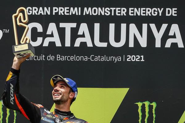 Miguel Oliveira na víťaznom