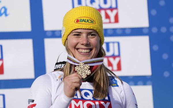Katharina Liensbergerová s bronzovou