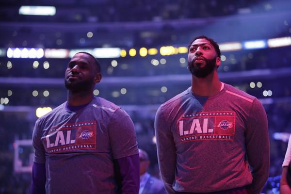 Hviezdne duo Lakers -