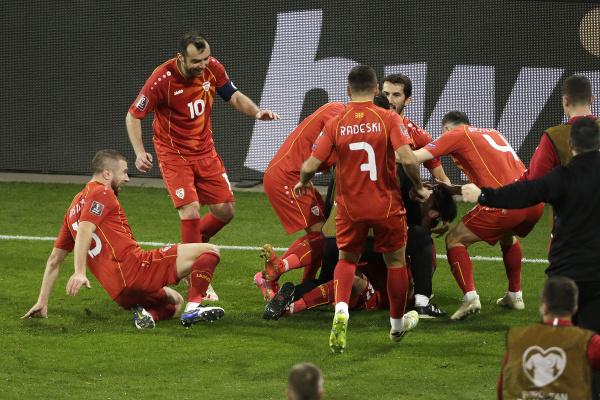Obrovská radosť Severného Macedónska
