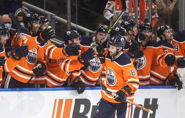 Hokejisti Edmontonu Oilers sa