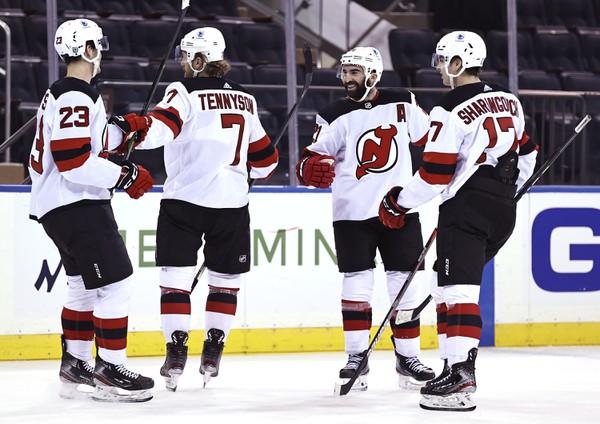 New Jersey Devils oslavujú