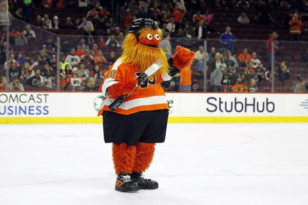Gritty, maskot Philadelphie Flyers