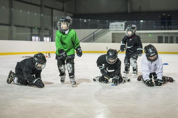 Mladí hokejisti Spartaka Bánovce