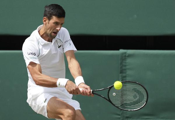 Novak Djokovič vo finále