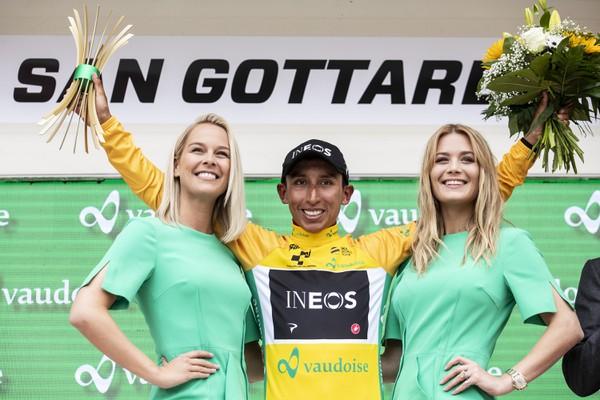 Kolumbijský cyklista Egan Bernal