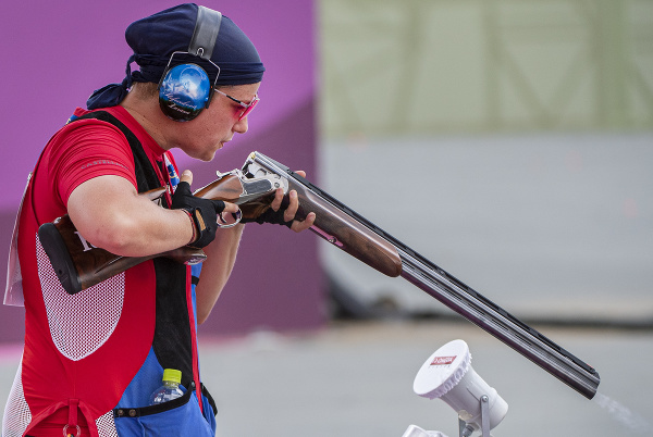 Na snímke slovenská strelkyňa