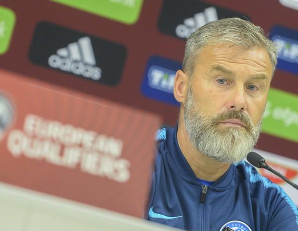 Tréner slovenských futbalistov Pavel