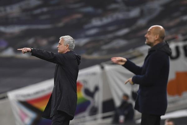 José Mourinho a Pep