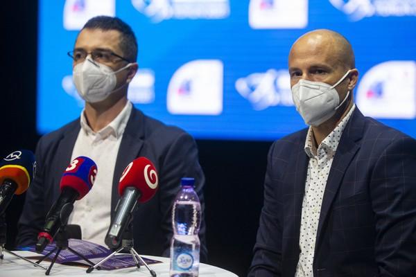 Zľava prezident Slovenského atletického