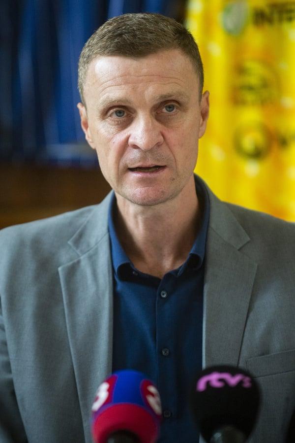Na snímke riaditeľ Slovenskej