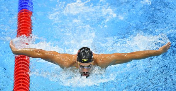 Slovenský reprezentant v plávaní