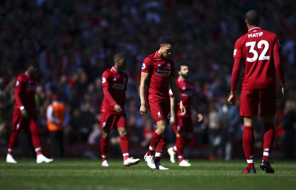 Sklamaní hráči Liverpoolu