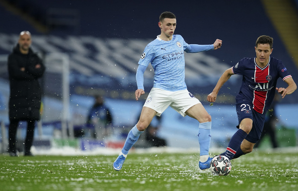 Phil Foden a Ander