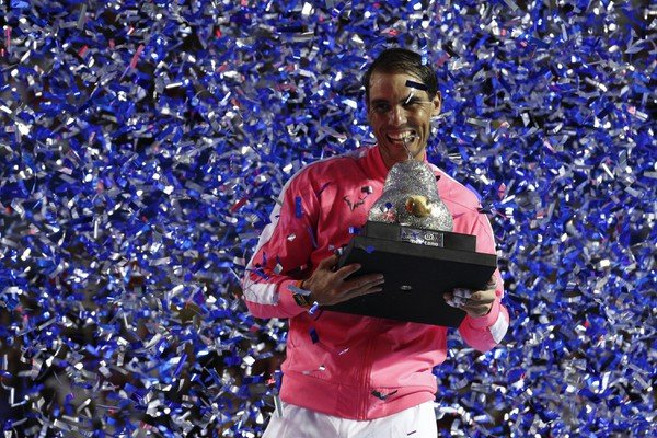 Tretí celkový triumf Nadal