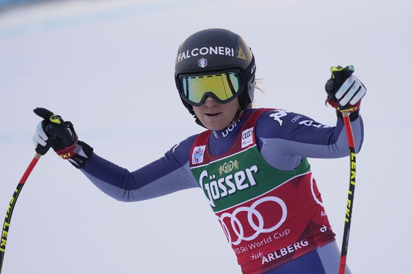 Sofia Goggiová vyhrala zjazd