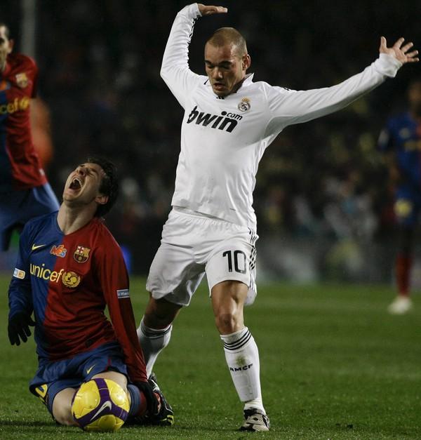 Wesley Sneijder v drese