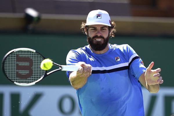 Americký tenista Reilly Opelka