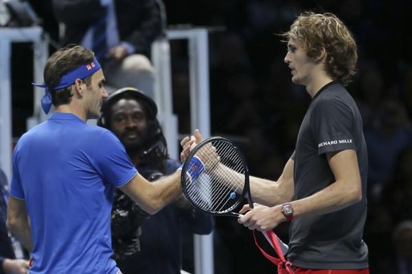 Roger Federer a Alexander