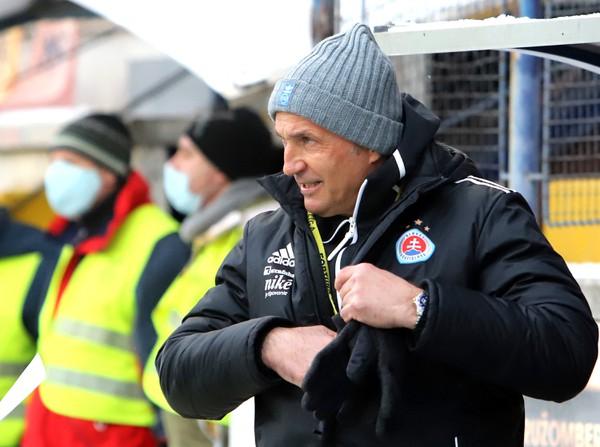Tréner Slovan Bratislava Darko