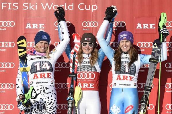Stupeň víťaziek: Veronika Velez-Zuzulová