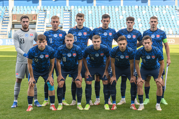 Na snímke reprezentácia Slovenska