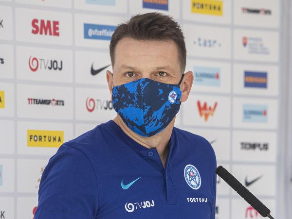 Tréner slovenských futbalových reprezentantov