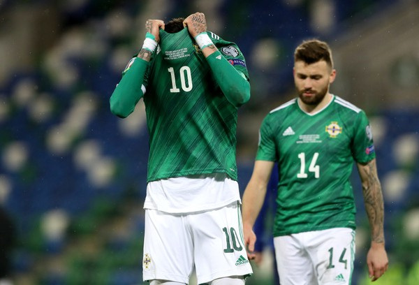 Sklamaní hráči Severného Írska
