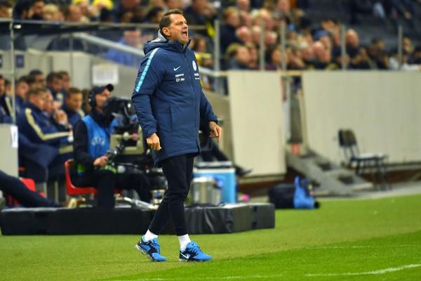 Dočasný tréner slovenskej futbalovej