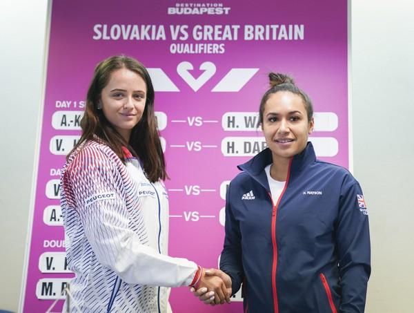 Slovenská tenisová jednotka Viktória