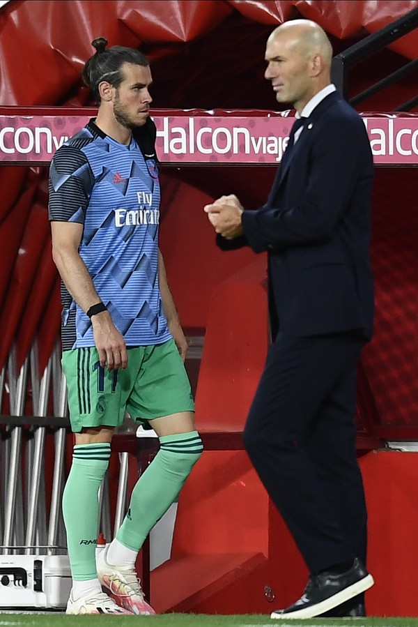 Gareth Bale a Zinedine