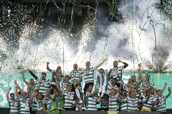 Kapitán Sportingu Lisabon Sebastián