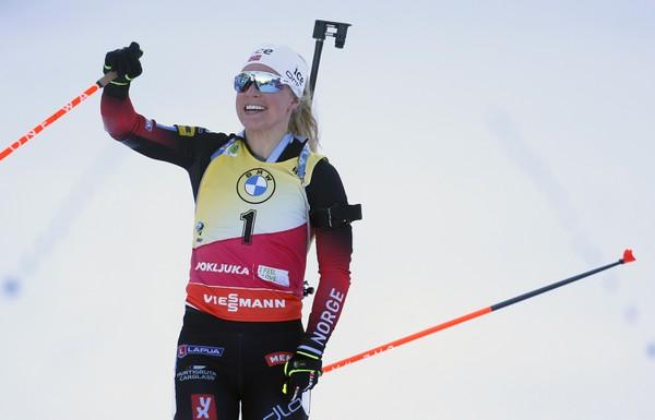 Nórka Tiril Eckhoffová víťazí