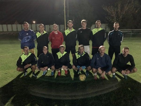 Futbalisti TJ Družstevník Jacovce