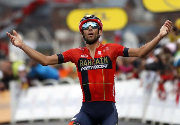 Vincenzo Nibali po víťazstve
