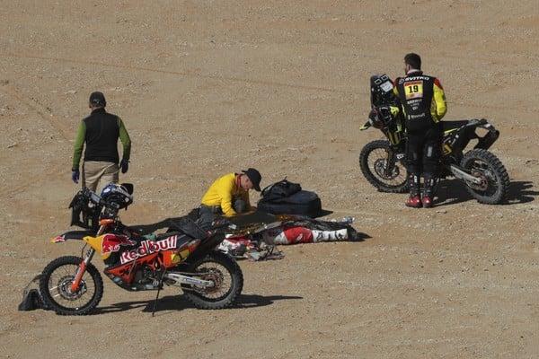 Telo portugalského motocyklistu Paula