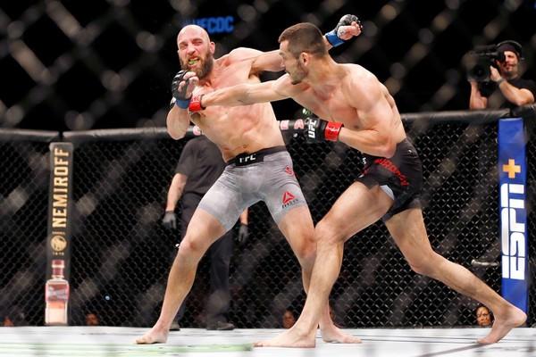 Mach Muradov v UFC