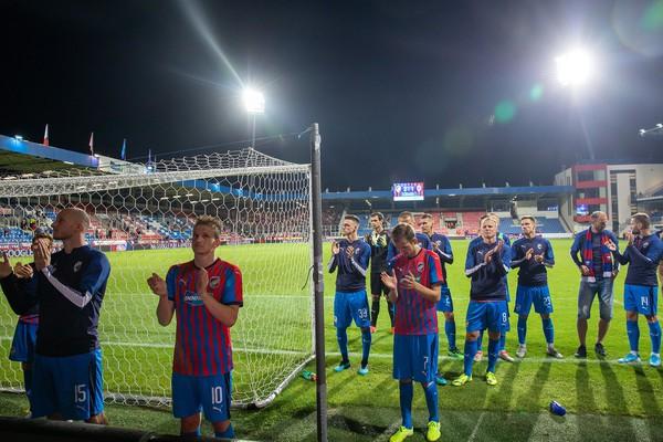 Futbalisti Plzne po vypadnutí