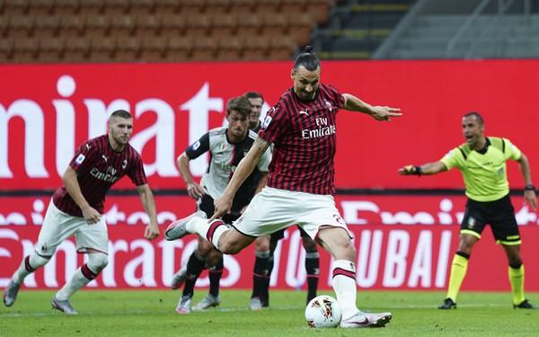 Zlatan Ibrahimovič pri penaltovom