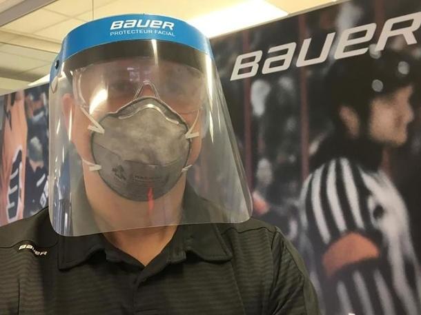 Spoločnosť Bauer vyrába ochranné štíty