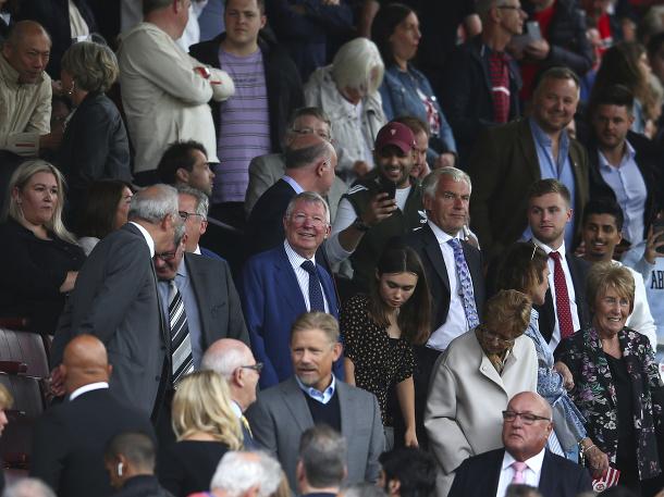 Legendárny Sir Alex Ferguson na Old Trafforde