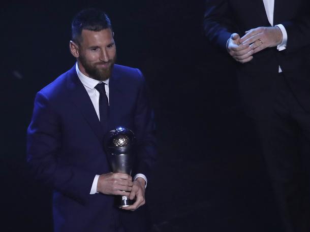Messi získal ocenenie Hráč roka