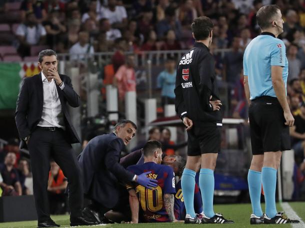 Pohroma pre Barcelonu!