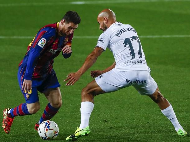 Messi nastúpil na 767. zápas v drese FC Barcelona