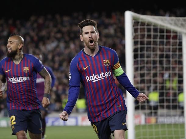 Messi opäť potiahol Barcelonu