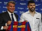 Kun Agüero už bude obliekať dres Barcelony