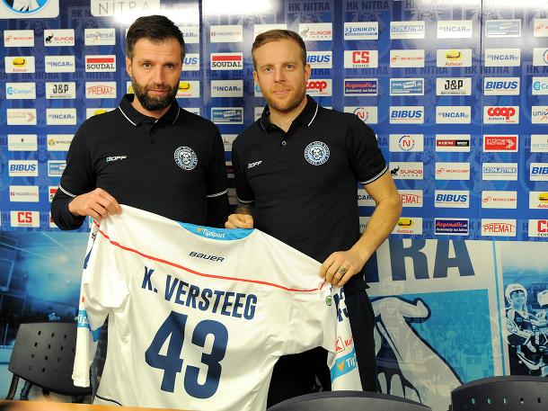 Kris Versteeg novým hráčom Nitry