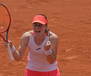 Senzačná semifinalistka Roland Garros